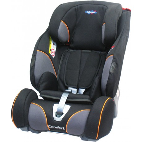 KLIPPAN TRIOFIX Comfort 2017 Black Orange + ISOFIX